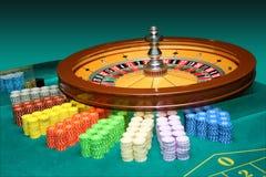 轮盘赌 库存图片