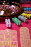 轮盘赌tablele 库存照片