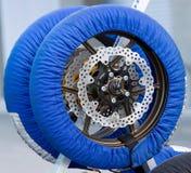 轮胎取暖器 免版税库存图片