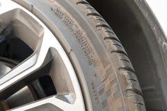轮胎和轮子 免版税库存照片