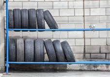 轮胎存贮 免版税库存图片