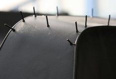 轮胎拖拉机 图库摄影