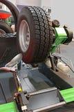 轮胎更换者 库存照片