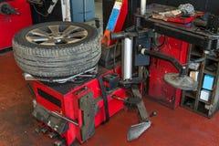 轮胎服务 库存图片