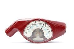 轮胎气压测量仪 库存图片