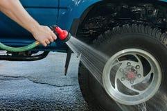 轮胎洗涤 库存图片