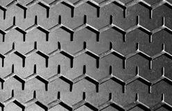 轮胎踩 免版税库存照片