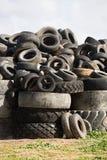 轮胎转储, Cobram维多利亚 免版税库存图片