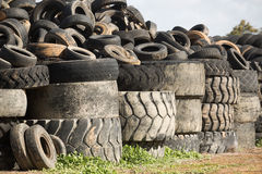 轮胎转储, Cobram维多利亚 库存照片