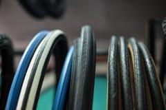 轮胎细节 免版税库存照片