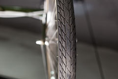 轮胎细节 免版税库存图片