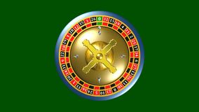 轮赌,赌博娱乐场比赛,皇家比赛,动画 股票录像