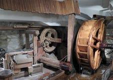 水轮(伯利恒教堂在布拉格) 库存图片