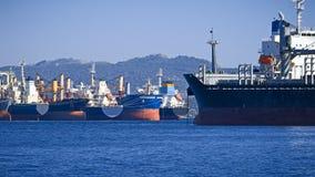 货轮 免版税图库摄影