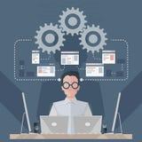 软件工程师 免版税图库摄影