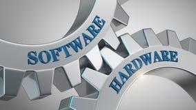 软件硬件概念 库存例证
