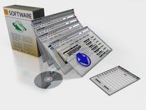 软件 免版税库存图片
