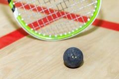 软式墙网球和球 库存照片