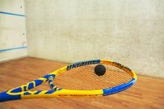 软式墙网球特写镜头 免版税库存照片