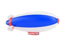 软式小型飞艇 库存例证