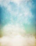 软性在纸的色的雾 免版税库存图片