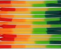 软性抽象背景的色的蜡 免版税库存图片