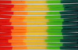 软性抽象背景的色的蜡 库存照片