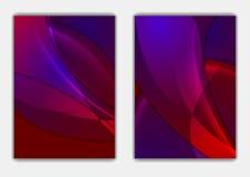 软的发光的抽象波向量飞行物背景 免版税库存照片