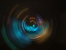 软的圆抽象背景 免版税库存照片