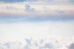 软的天空 库存图片