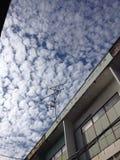软的天空 库存照片