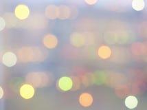 软的梦想的五颜六色的光 免版税库存照片