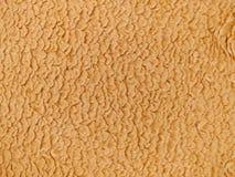 软的棕褐色的织品 免版税库存照片