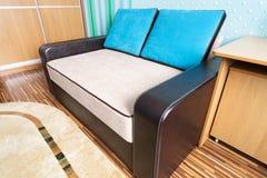 软的沙发 免版税库存图片