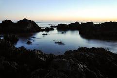 软的海浪 库存图片