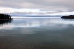 软的湖光 免版税库存照片