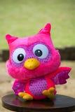软的玩具猫头鹰 库存图片