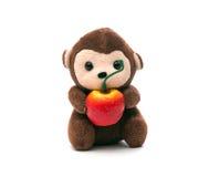 软的玩具猴子 图库摄影