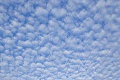软的白色云彩 库存图片