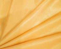 软的金黄织品 免版税库存图片