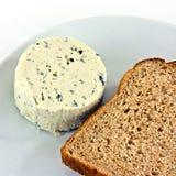 软的青纹干酪 免版税库存照片