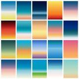 软的颜色背景 流动app的现代屏幕传染媒介设计 软的颜色梯度 库存照片