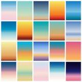 软的颜色背景 流动app的现代屏幕传染媒介设计 软的颜色梯度 库存图片