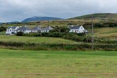 软的风景在爱尔兰乡下 免版税库存图片