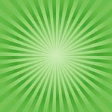 E 软的鲜绿色的光芒背景 ?? 库存例证
