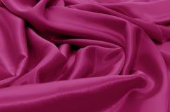 软背景绯红色典雅的缎 库存照片