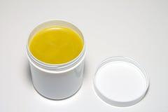 软膏奶油 免版税库存照片