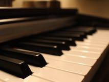 软钢琴手段 库存照片