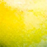 软绵绵地绿色和黄色defocused 免版税库存图片
