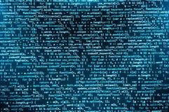 软件开发商工作区屏幕 库存照片